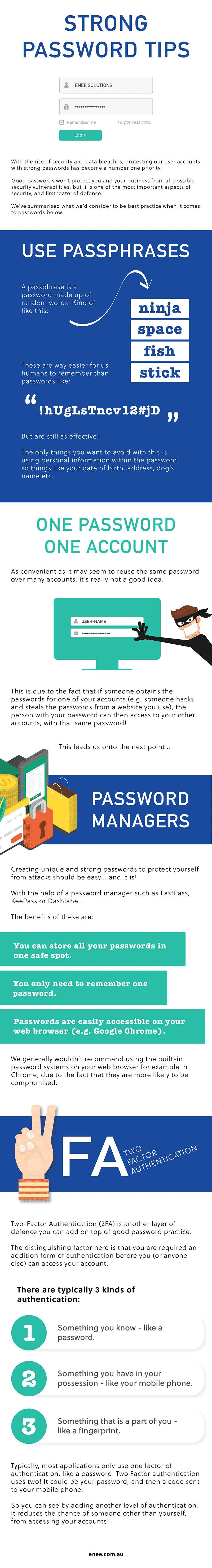 tips on how to create a strong password