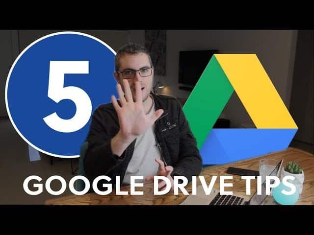 5 google drive tips