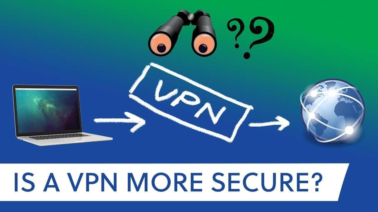is vpn more secure
