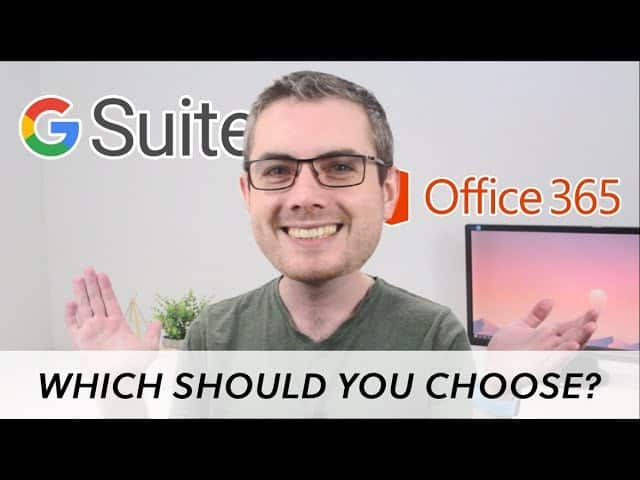 office 365 or g suite for business email